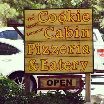 Cookie Cabin Pizzeria Eatery Mount Lemmon