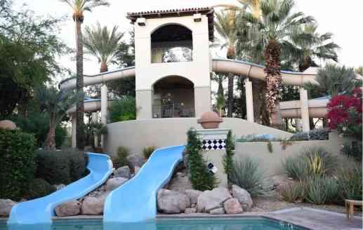 water slides Fairmont Scottsdale Princess