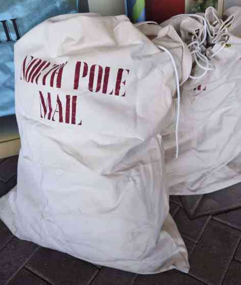 North Pole Mail Bags Christmas at the Princess