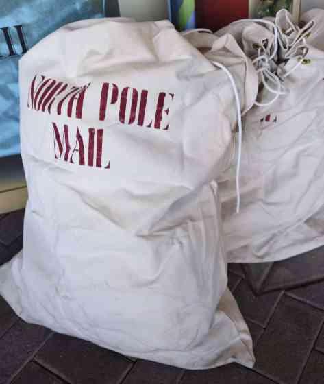 North Pole Mail Bags Christmas at the Princess