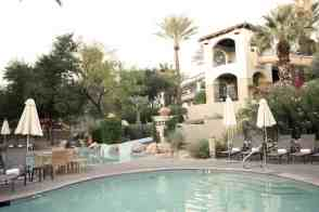 pool with waterslides Fairmont Scottsdale Princess