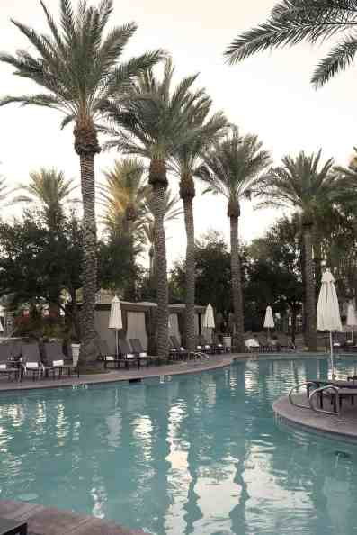 six sparkling pools at Fairmont Scottsdale Princess