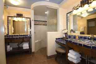 Catalina bathroom at Hacienda Del Sol