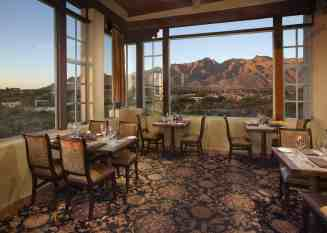 Hacienda Del Sol Restaurant with Mountain Views