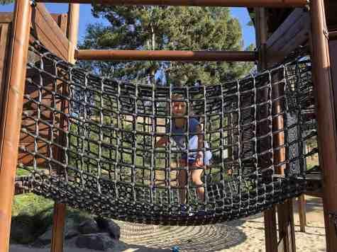 Net Bridge Adventure Playground