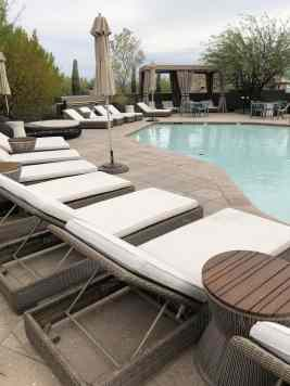 lounge chairs toddler pool four seasons scottsdale