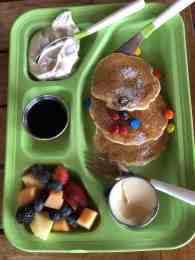 m&m pancakes kids menu proof four seasons scottsdale
