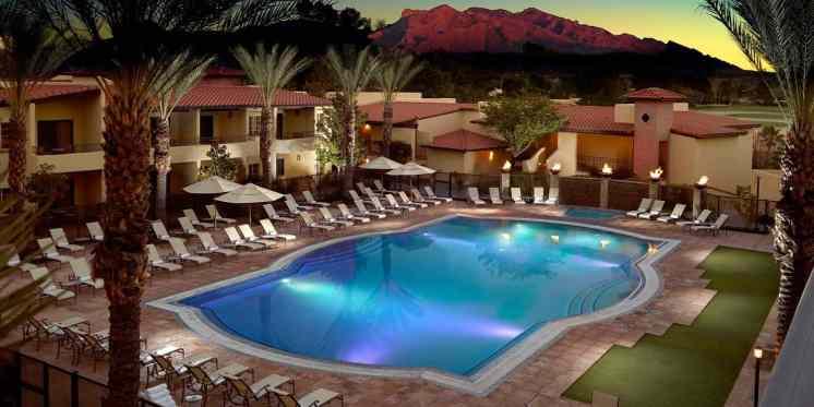 swimming pool omni tucson national resort