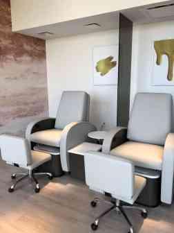 pedicure chairs Phoenician Spa Scottsdale