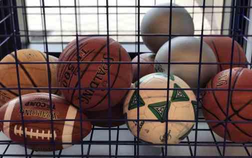 sports balls Phoenician Athletic Club