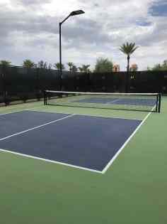 tennis court Phoenician Athletic Club