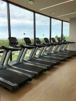 treadmills view Phoenician Athletic Club Scottsdale