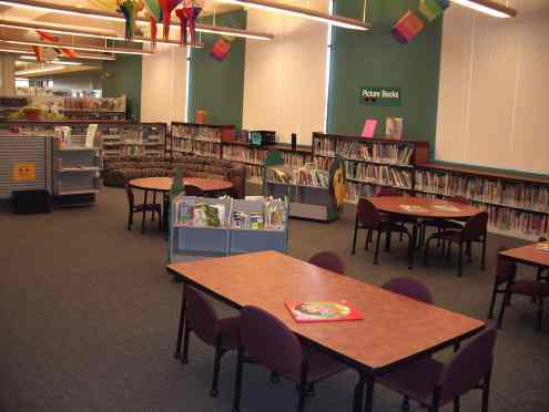 childrens area woods memorial library