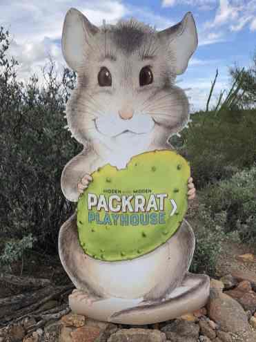 packrat playhouse arizona sonora desert museum