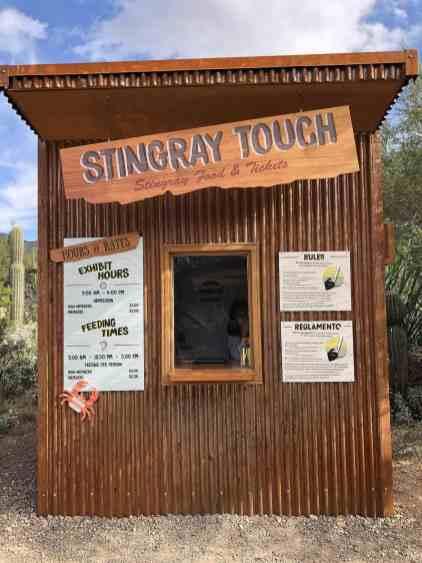 stingray touch tickets arizona sonora desert museum