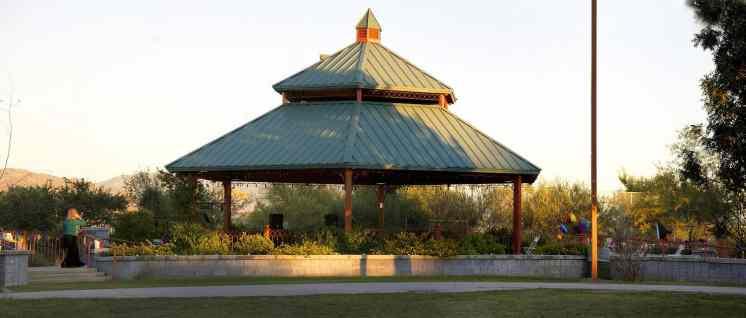 Children_s Outdoor Performance Area Ramada Rentals Lincoln Park