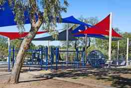 covered playground spinning pods Lincoln Park Tucson