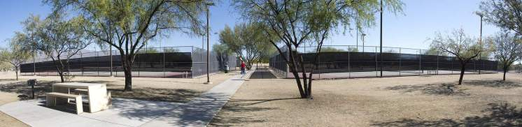 tennis courts Udall Park