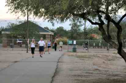 walking path Udall Park Tucson