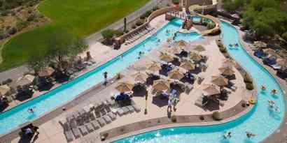 lazy river waterslide JW Marriott Tucson Starr Pass Resort