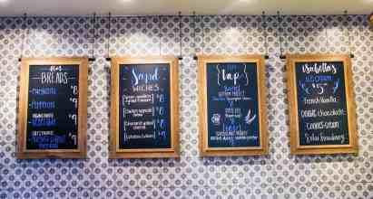 JW Market Chalkboard Menu Starr Pass