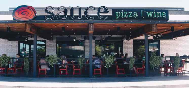 Sauce Pizza Wine Tucson family-friendly restaurant