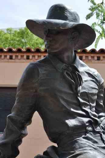 cowboy sculpture Tucson Museum Art