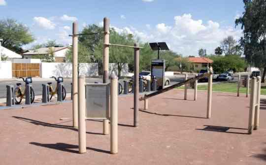 exercise station Himmel Park Tucson