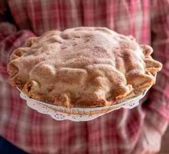 homemade apple pie Apple Annie's