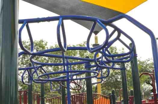 monkey bars climbing McDonald Park Tucson