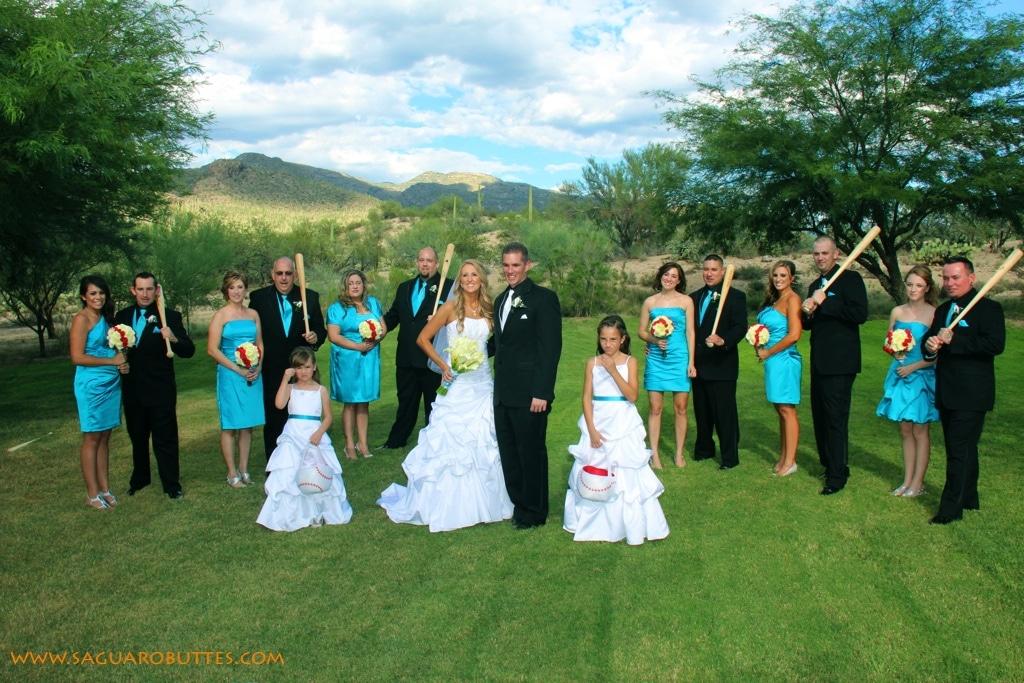 Baseball Themed Wedding Amp Reception My Tucson Wedding