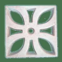 Elemento Vazado de Concreto Flor Decorativo
