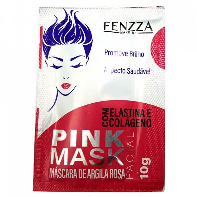 mascara facial pink fenzza
