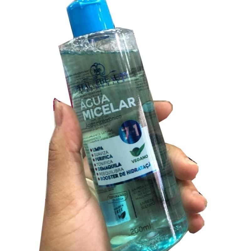 água micelar Phallebeauty mao