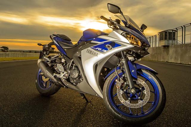 """YZF-R3. A """"ninjinha"""" da Yamaha."""