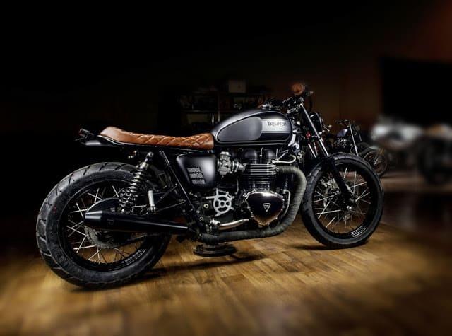 Triumph promove competição inédita entre customizadores de motos no Salão Duas Rodas