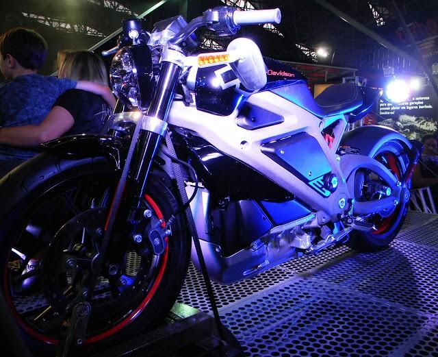 Harley elétrica no Salão Duas Rodas de 2015