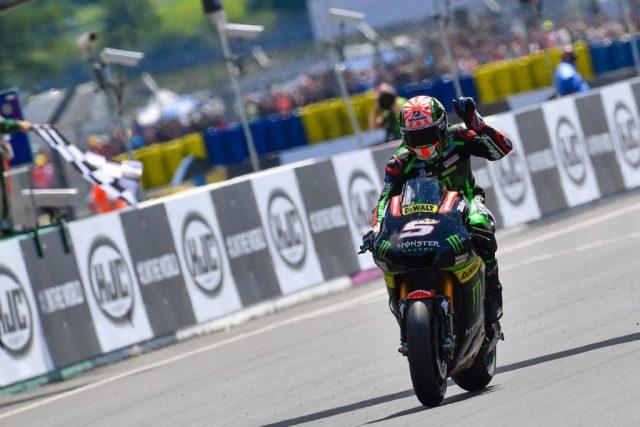 MotoGP - o francês Johann Zarco chega em segundo em Le Mans
