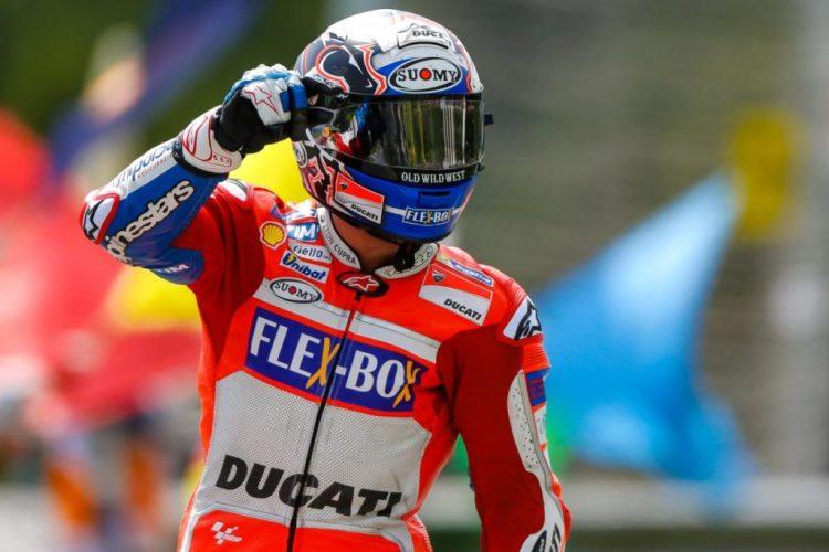 Andrea Dovizioso conquista sua terceira vitória na MotoGP