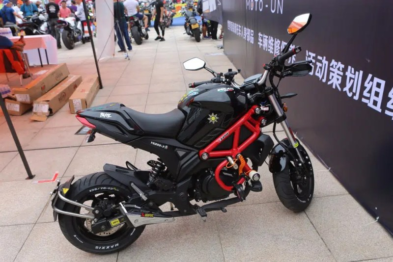 Monster, mas não da Ducati: apresentamos a Yingang Monster