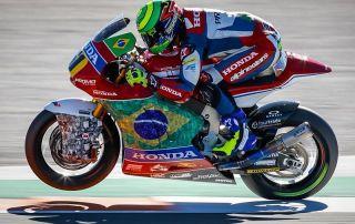 Eric Granado termina em 17.º no Mundial de Moto2