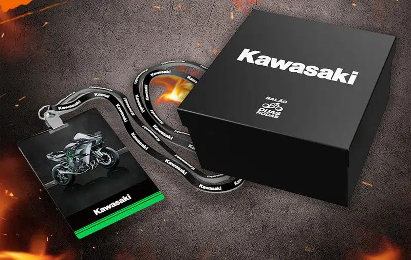 Box Super Fã - Kawasaki