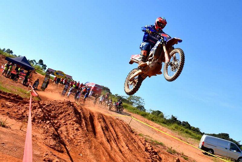 O português Luis Oliveira venceu a Categoria E2 e foi segundo na EnduroGP - Foto: Janjão Santiago