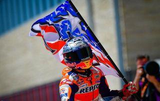 MotoGP: Márquez vence novamente nos Estados Unidos. Dovizioso lidera o campeonato.