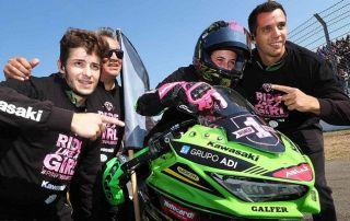 A conquista de Ana Carrasco para o mundo do motociclismo