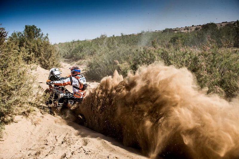 Lincoln Berrocal participou do Rally Dakar