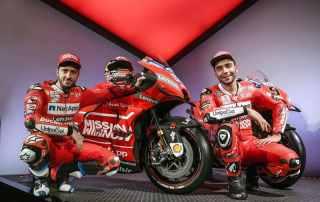"""Apresentação da Ducati """"Vermelho Ferrari"""" para a MotoGP 2019"""