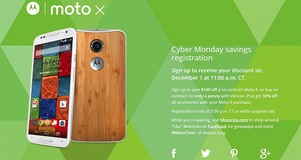 oferta Moto X