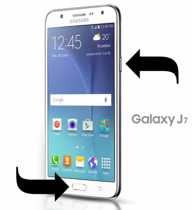 Print Galaxy J7