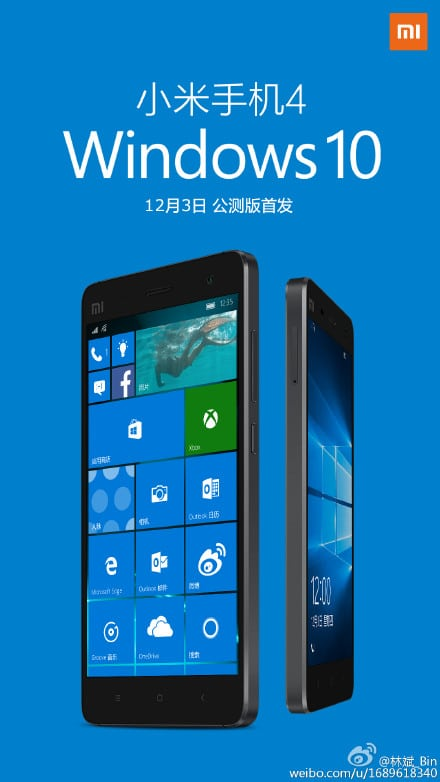 Mi4 Windows 10